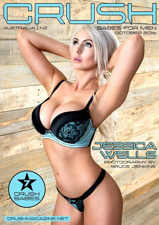 Crush Magazine - We are extremely happy to announce the  LAUNCH OF CRUSH MAGAZINE!! <3 <3 - Babes for Men. Featuring Crush Babe - Jess Wells Photography by Bruce Jenkins Photographer Download Subscribe & Submit - http://www.crushmagazine.net