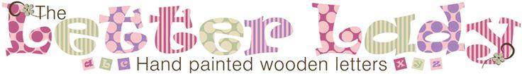 The Letterlady :: Handpainted Wooden Letters! in port elizabeth