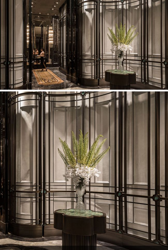 Four Seasons Hotel ShangXi Pudong Shanghai by AB_Concept_HK_Amazing Feature Wall!