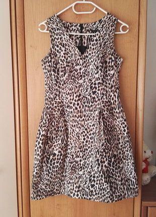 Kup mój przedmiot na #vintedpl http://www.vinted.pl/damska-odziez/krotkie-sukienki/17407546-sukienka-w-panterke-mohito