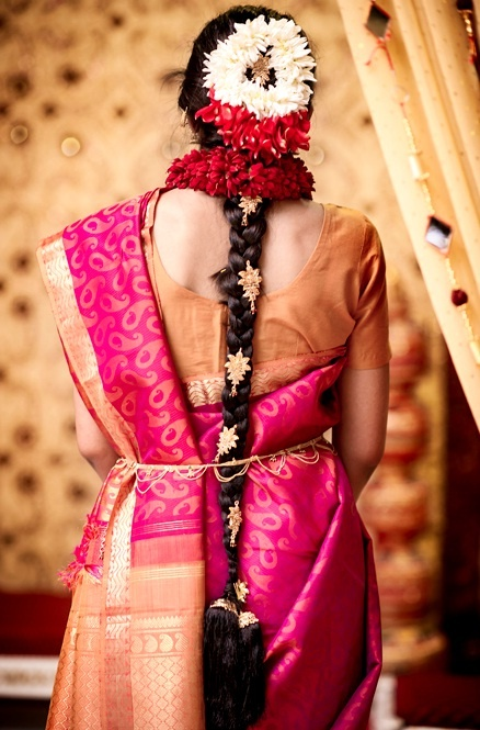Awesome 1000 Images About South Indian Bride Hair Styles On Pinterest Hairstyle Inspiration Daily Dogsangcom