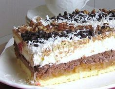 This Polish Torte Is a Slice of Heaven in the Mouth: Polish Heaven in the Mouth Cake
