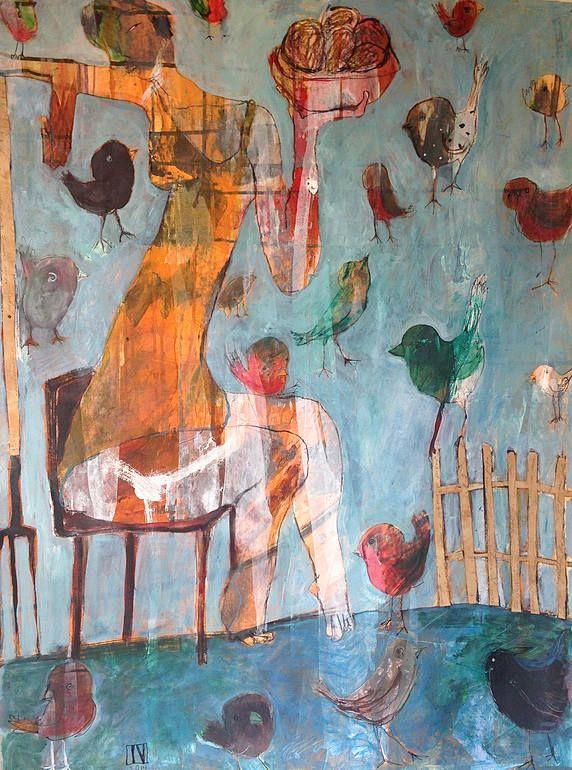 SOLD - Basket of Kumara, 2014. New ArtContemporary ArtistsSaatchi ...