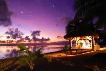 Romantisk middag på Crown Beach Resort