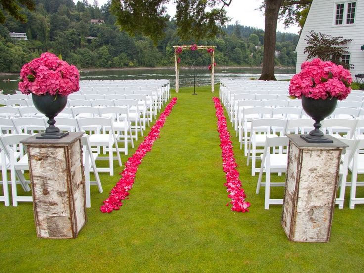 Ceremonies Wedding Florist Portland Oregon Crystal Lilies