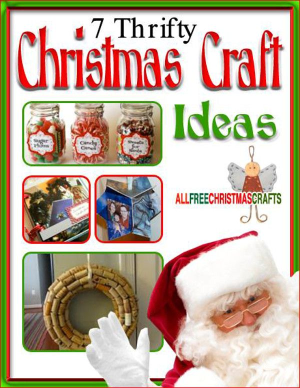 Charming Free Craft Ideas For Christmas Part - 2: 7 Thrifty Christmas Craft Ideas Free EBook