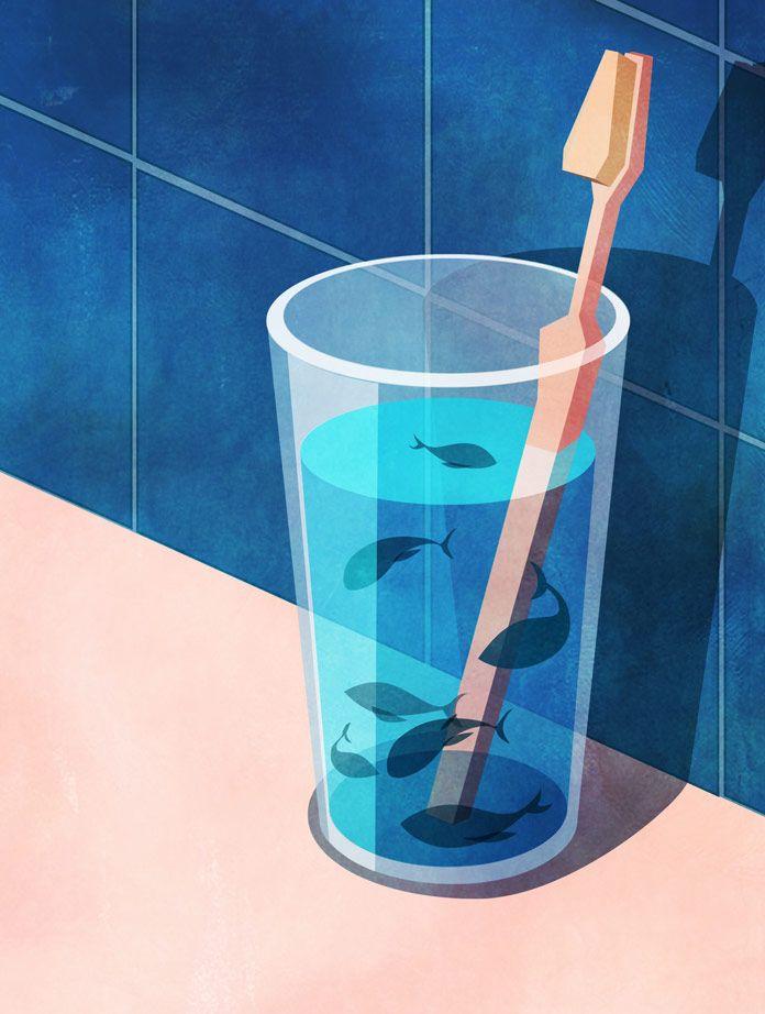 Marly Gallardo, Glass of Water