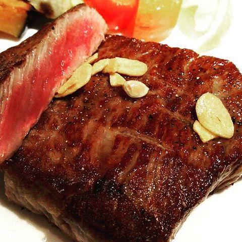 #飯村牛 200グラム まいうー! 口の中でトロけます!  #レストラン中台  #レストラン  #洋食  #肉  #ミディアムレア  #茨城県  #茨城の魅力発信し隊  #土浦  #土浦市  #牛肉  #ビーフ  #ステーキ  #老舗  #beef  #steak  #ディナー  #dinner