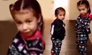 North West and her brother Saint stole Christmas. The children of Kim Kardashian and Kanye West looked adorable in their printed pajamas as they enjoyed Christmas morning.