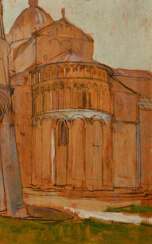 The Apse of the Duomo, Pisa by Vanessa Bell 1912