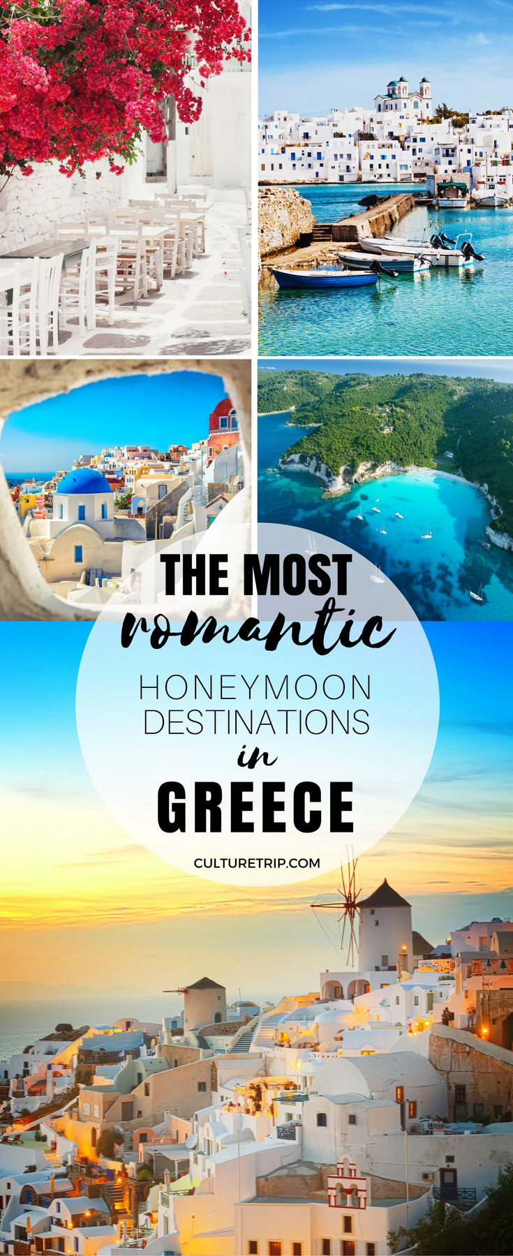 The Most Romantic Honeymoon Destinations in Greece|Pinterest: @theculturetrip