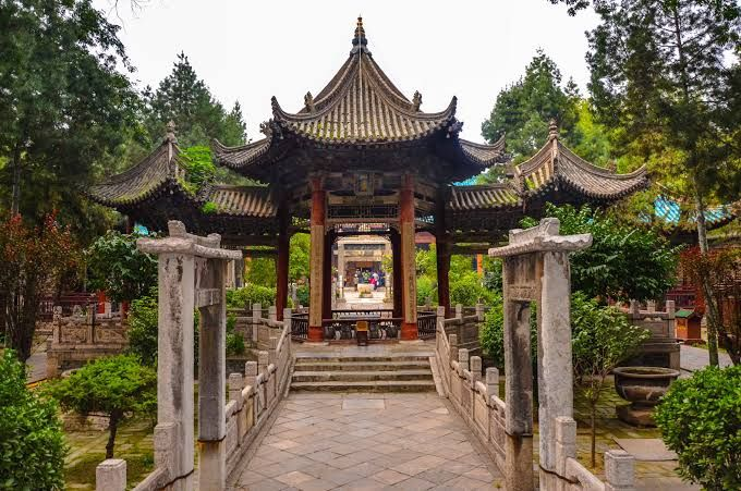 The Great Mosque Of Xian Serves Over 60 000 Chinese Muslims In The