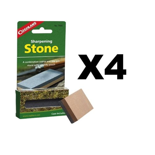 Coghlan's Sharpening Stone (4-Pack)