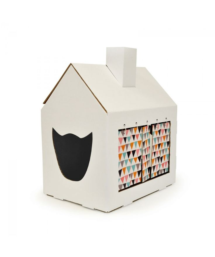 #Miahouse #cat #house #cardboard