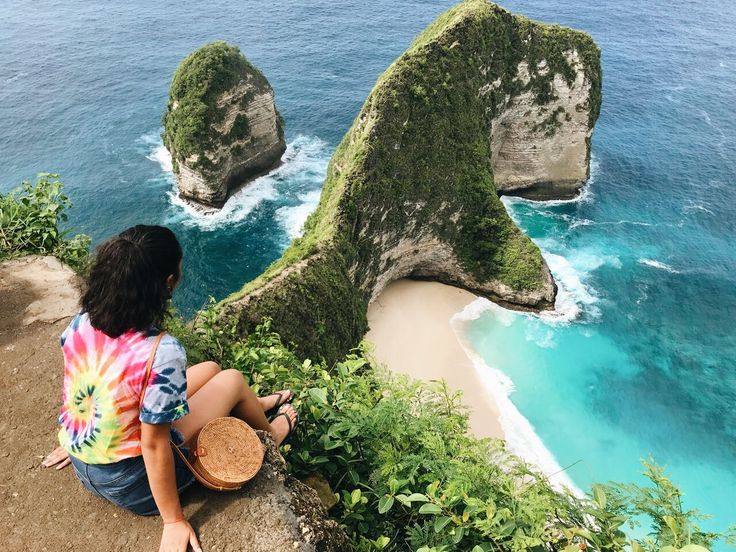 ✨ Pinterest: ash_ january Kelingking beach, Nusa Penida