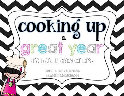 Cooking Up a Great Year! {back to school centers} some great ideas here!
