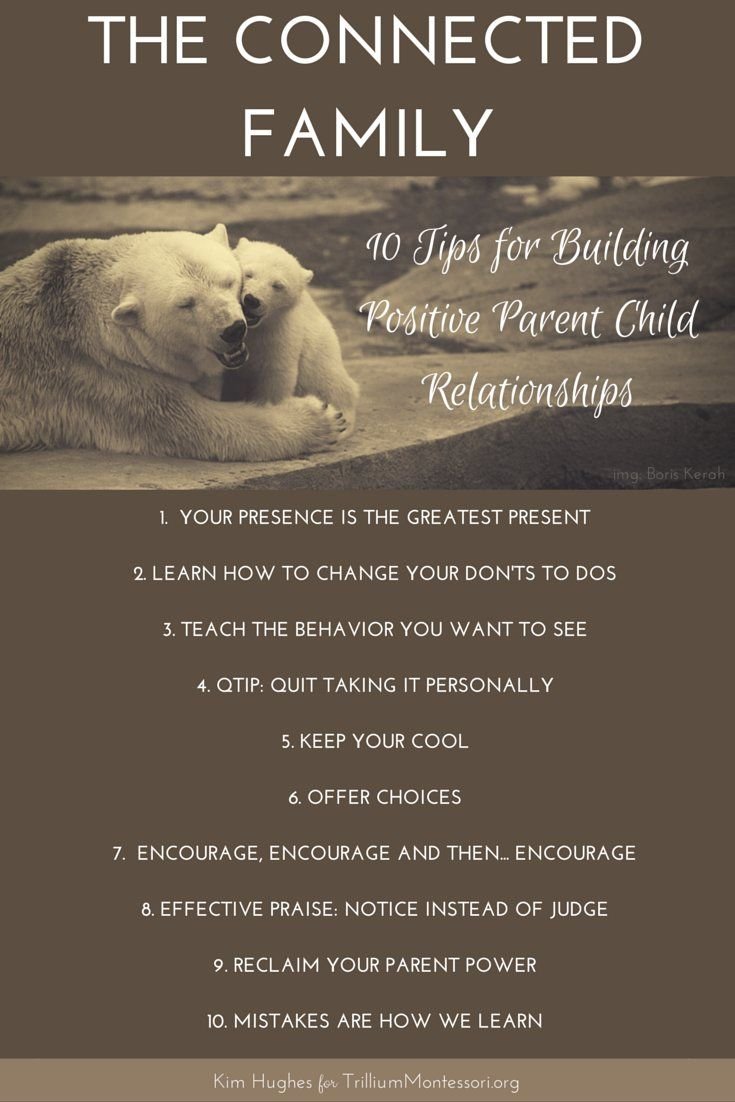 Parent And Children Relationships