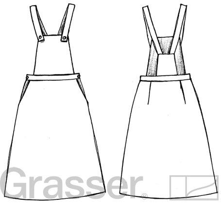 Выкройка сарафана, модель №244, магазин выкроек grasser.ru