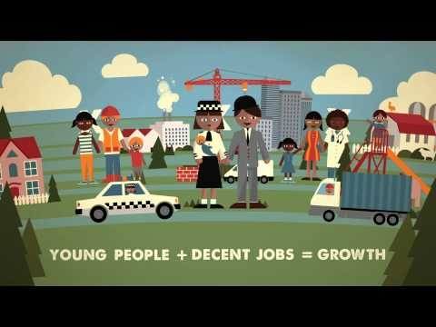 ILO: Let's invest to get young people into decent jobs! The world is facing a worsening youth employment crisis: young people are three times more likely to be unemployed than adults and over 75 million youth worldwide are looking for work.