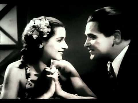 Helena Grossówna i Eugeniusz Bodo /  Paweł i Gaweł / polski film komediowy / 1938 / reż. Mieczysław Krawicz