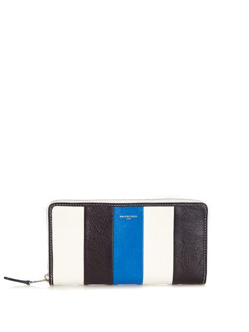 Balenciaga Continental Strap Wallet