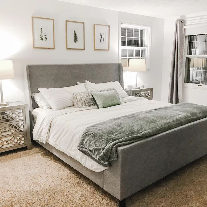 Upholstered Beds Decor Upholstered Bed Master Bedroom Bed Decor Bedroom Interior
