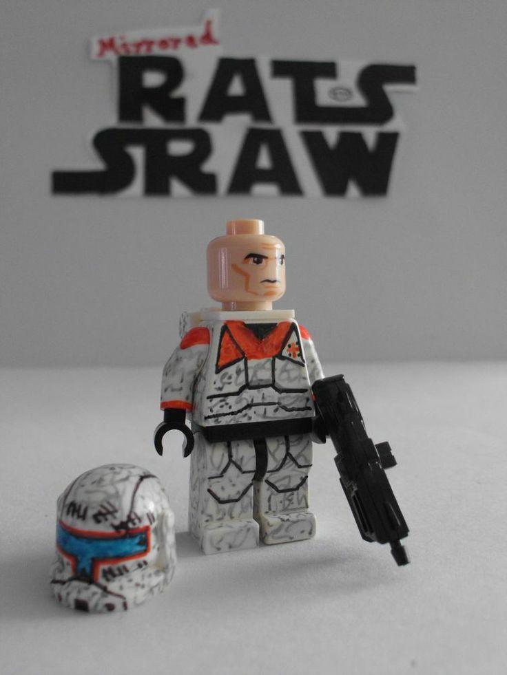 Lego Star Wars minifigures - Clone Custom Commando Gregor