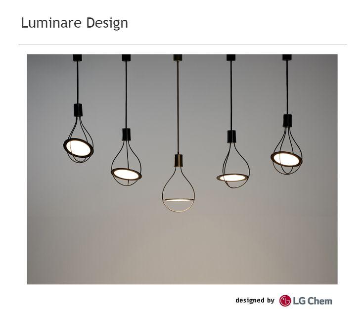 OLED Light Bulbs (Rail Pendants)