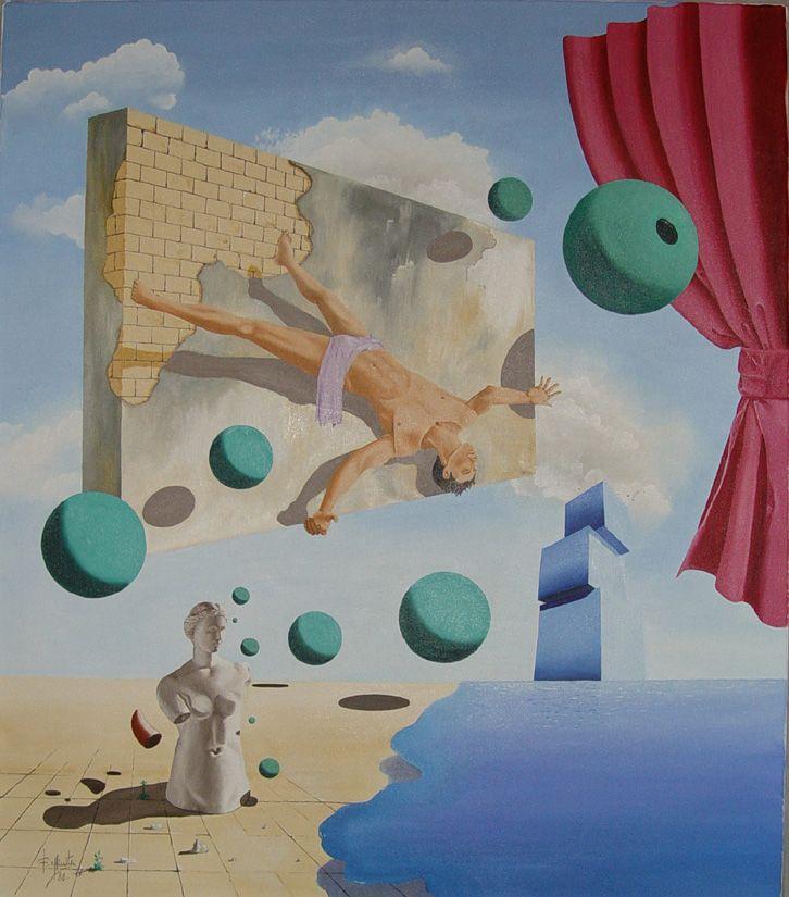Felicífera humana  -  Óleo sobre tela     80x70     1988