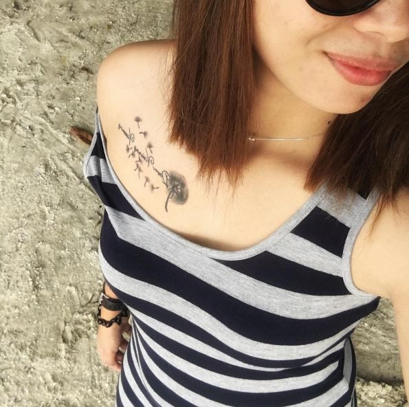 50+ Charming And Sexy Collar Bone Tattoos For Woman In 2019 – Page 9 of 51 – PinningFashionPinningFashion