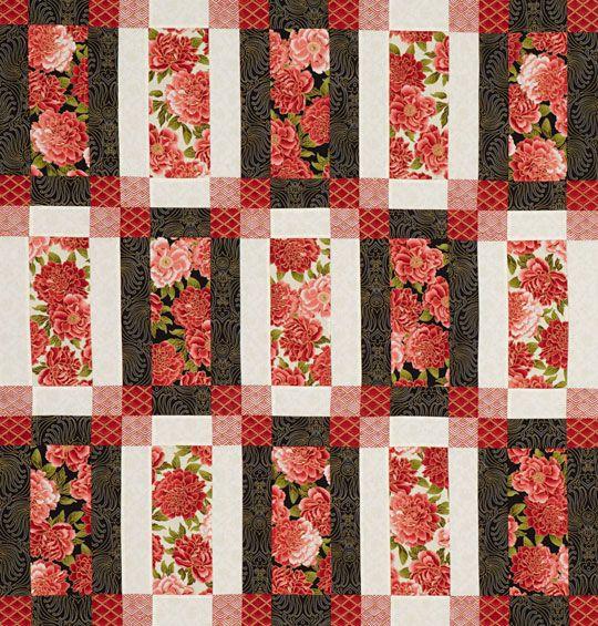 Framed Rectangles Quilt