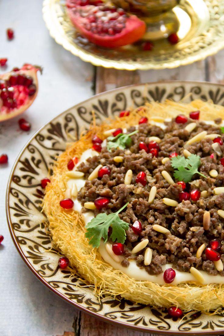 Salted Kunafa Pie   www.facebook.com/Assia.kitchen