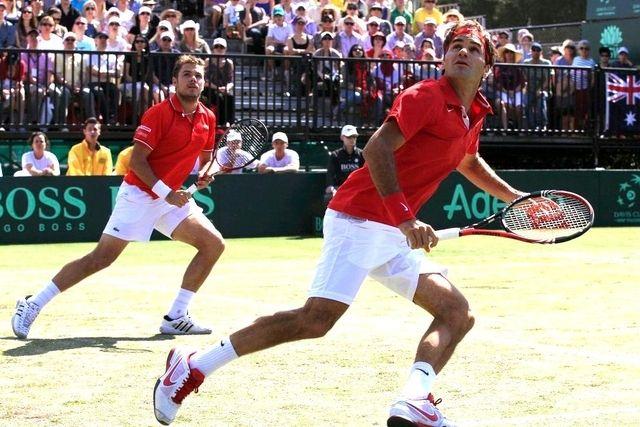 Roger Federer & Stan Wawrinka Swiss Precision like a ballet
