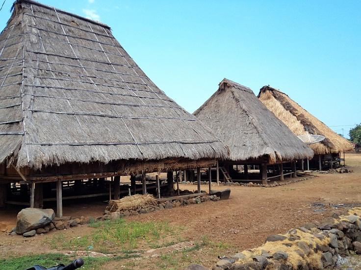 Nggela Village in East Flores, Indonesia