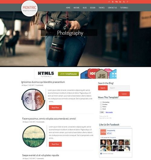 Top Best Free Blogger Templates which are suitable for magazine, portfolio, corporate business can be found here and all from 2013 and 2014.