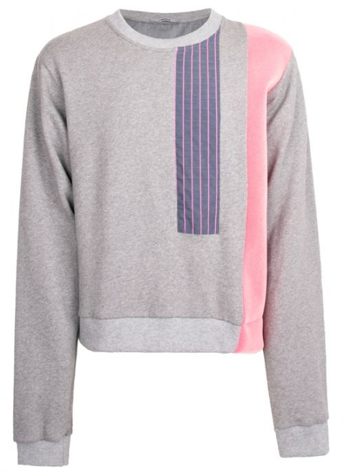 Grey and Pink Sweater  Andrez . Independent fashion brand. portuguese design . scar-id store