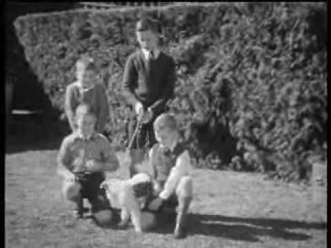 Home movie footage of the Empire Theatre, Toowoomba burning down (1933). Images of burning building at night, and ruined building remains in daylight.
