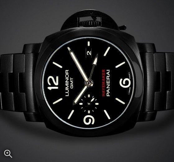 Panerai GMT: Hayemaker | Titan Black