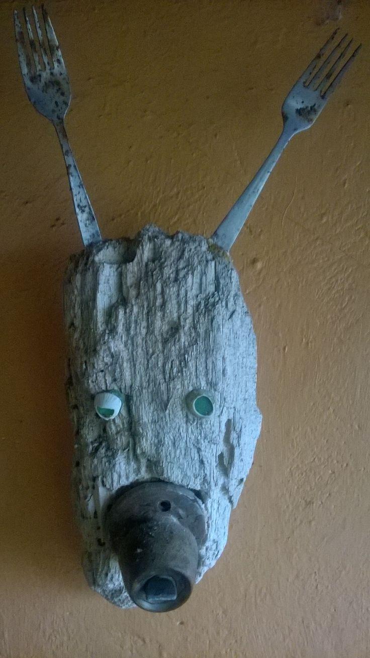 Driftwood and doornob