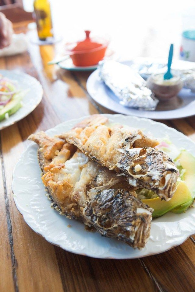Fresh seafood lunch at Purunchi - Curacao | insimoneskitchen.com