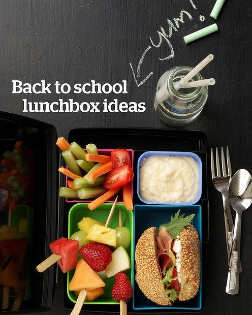 From wraps to mini muffins, check out our recipe gallery of healthy lunch box ideas http://bit.ly/15FsiXh