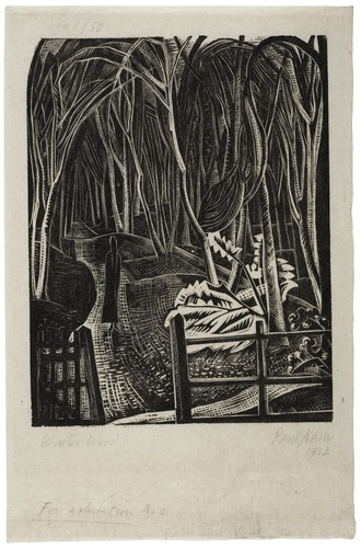 Paul Nash: Winter Wood