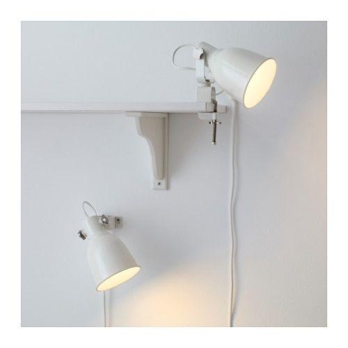 HEKTAR Wall/clamp spotlight with LED bulb  - IKEA