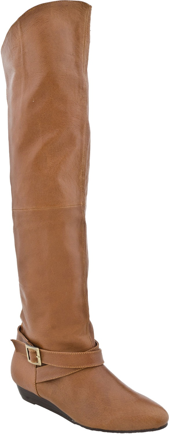 Chinese Laundry Tremendous Women's High Shaft Boot (New Cognac Leather )