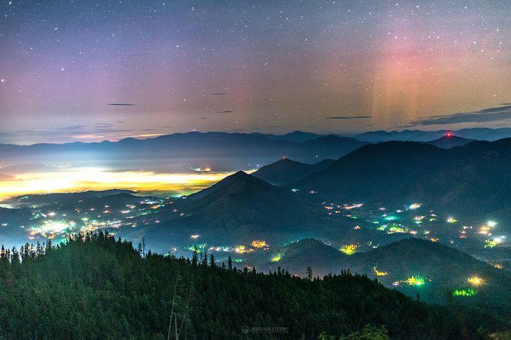 """Grants Pass, Oregon, Northern Lights"""