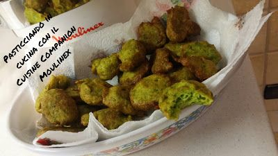 Pasticciando in cucina con il Cuisine Companion Moulinex: Frittelle di zucchine con il Cuisine Companion Mou...