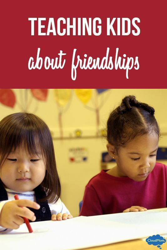 Tips on teaching kids about friendships and how to help your child make friends during preschool!