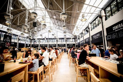 A Makeover for a Lisbon Food Market | via New York TimesTravel | 10/09/2014 The recently renovated Mercado da Ribeira in Lisbon, situated near the Tagus River since 1892, already qualifies as a major food destination. The 75,000-square-foot food court, a sizable portion of which opened in May (the rest of the market is scheduled to be completed by the end of the year), allows hungry travelers the opportunity to sample the city's best eats in one place. #Portugal Photo:The Mercado da Ribeira.