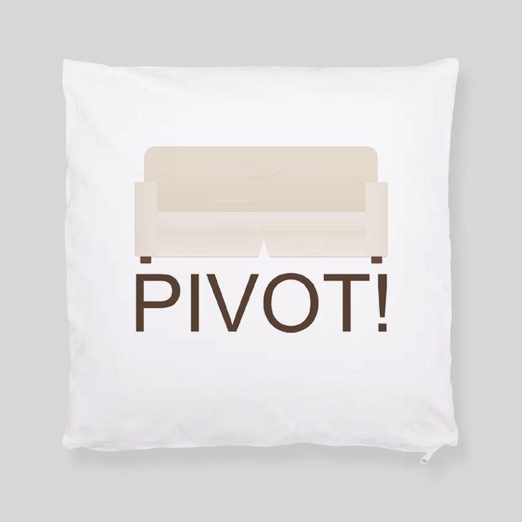 Fan Art Unofficial Friends Pivot! TV Show Comedy Throw Pillowcase – Kituout Store