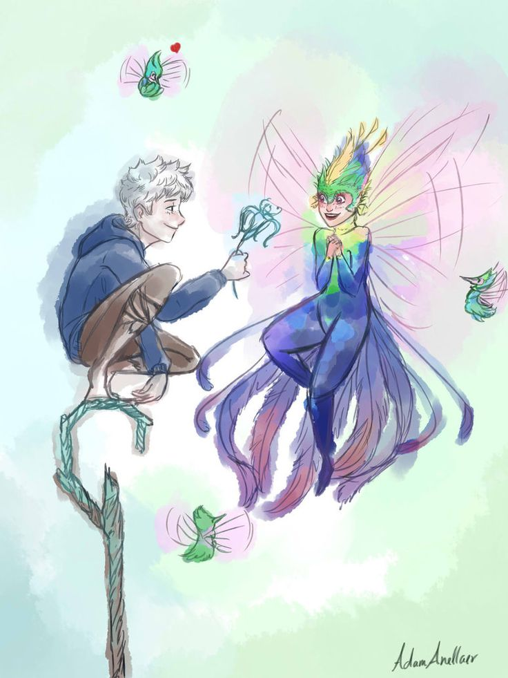 jack frost and tooth fairy relationship